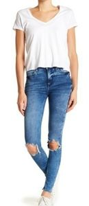 NWT Free People Busted Knee Skinny Jeans Size 26